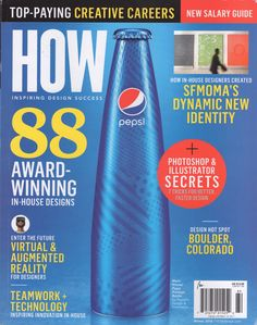 The Winter 2016 issue of HOW magazine