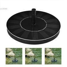 Soledi Set pompe à eau flottante avec panneau solaire pour ...