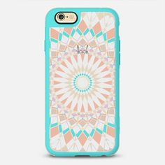 Pastel Feather Star Transparent iPhone 6S case by Organic Saturation | Casetify