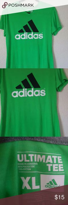 Adidas bright ultimate tee xl sports athletic top Super cute top Adidas Tops Tees - Short Sleeve