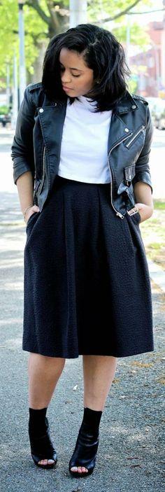 Midi Skirts & Peep Toes -   Amour Veroo