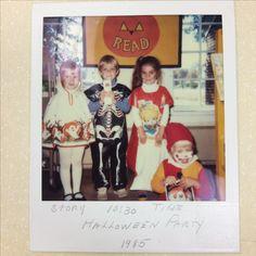 Hightstown branch Halloween Party 1985