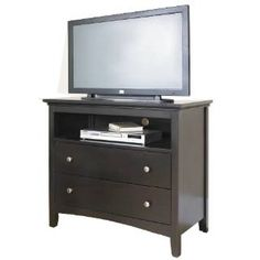 Check out the Samuel Lawrence 8064-160 SLD Southpark Entertainment Console in Dark Chocolate priced at $239.99 at Homeclick.com.