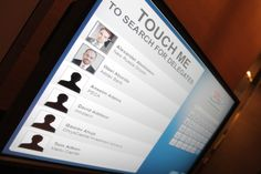 Interactive delegate list touchscreens http://www.icbi-events.com/pinsrem12ep