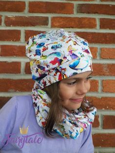Winter Warmers Hat & Snood Sewing Pattern PDF - Sparkle and Roar