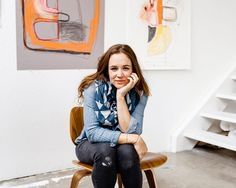 Elle Luna - designer, painter, extraordinaire in everything she does...