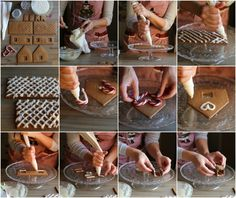 come fare casetta pan di zenzero
