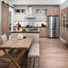Design CUISINA — Complete, simple and affordable kitchens Espace Design, Small Kitchen Storage, Cuisines Design, Home Decor Inspiration, Kitchen Design, Cabinet, Interior Design, Table, House