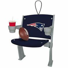 NFL Licensed Team Stadium Chair Ornament (New England Patriots) http://order.sale/QZkc