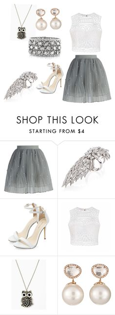 """Liv and Maddie"" by taylagravelle ❤ liked on Polyvore featuring Chicwish, Yeprem, Ally Fashion, Samira 13 and Mark Broumand"