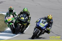 Rossi's move on Cal @ Indianapolis GP MotoGP