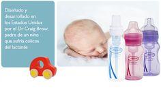 Linea de bebés Dr. Brown, desarrollado por Dr Brown un papá de bb con cólicos.