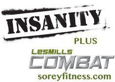 Insanity Les Mills Combat Hybrid Schedule