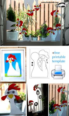Funny collage for small kids