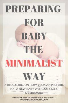 Preparing for Baby | Minimalist Mama | Decluttering Challenge | Decluttering Before Baby | Organizing | Pregnancy | Nesting | MamaBear Martin: Minimalism + Motherhood