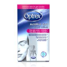 Optrex colirio ActiMist 2 en 1 ojos secos e irritados | ParafarmaciaPlus | Parafarmacia online: la oferta y el precio más barato de la red