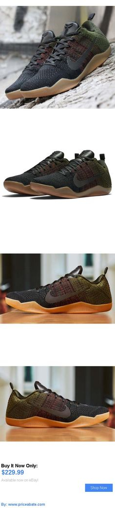 3a052e367429 Basketball  Nike Kobe Xi Elite Low 4Kb 11 Bryant Black Horse Green Men  Basketball 824463