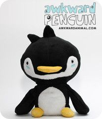 I love Wong Fu Productions & I love cute penguins.  Awkward Penguin