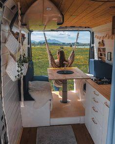 Van Conversion Interior, Camper Van Conversion Diy, Camper Life, Rv Life, Caravan Living, Travel Camper, Van Home, Cool Vans, Vw T