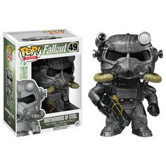 Brotherhood of Steel funko pop vinyl figure from the game Fallout Brought to you by Pop In A Box, the site Funko Pop! Vinyl shop