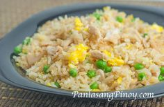Egg Fried Rice is an easy Chinese fried rice recipe that you can make at home. Egg Fried Rice is also a vegetarian dish and quick and easy to Stir Fry Recipes, Rice Recipes, Asian Recipes, Chicken Recipes, Cooking Recipes, Ethnic Recipes, Chinese Recipes, Chinese Food, Rice Dishes