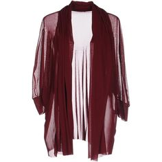 Laviniaturra Cardigan ($115) ❤ liked on Polyvore featuring tops, cardigans, maroon, red long sleeve top, lightweight cardigan, maroon cardigan, laviniaturra and maroon top