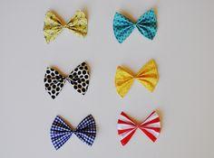 DIY: Splendid Hair Bow | Momtastic---> to match the dresses/skirts/tops I make for the girls
