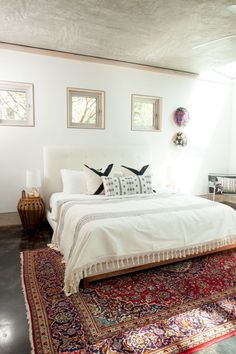 Future Heirloom Investments that are Worth Every Penny - It may seem counter-intuitive to invest in something you'll walk on, but a high-quality, handmade rug will age beautifully and last for generations. Pick one that's timeless and versatile to work wi