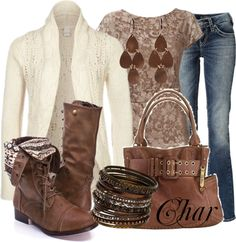 """""""lace up boots"""" by thefarm on Polyvore"""