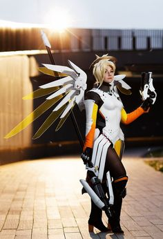 Angela Ziegler (Mercy) Overwatch