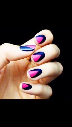#nail #rose&noir