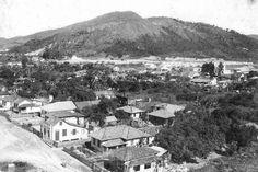 Vista parcial bairro Fazenda em 1976