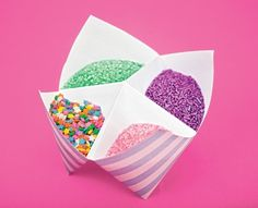 Ice Cream Party your ice cream toppings in an upside-down paper fortune teller (find out how to make one at enchantedlearning. Ice Cream Theme, Ice Cream Party, Summer Party Themes, Summer Parties, Summer Birthday, Birthday Parties, Birthday Ideas, 2nd Birthday, Kids Centerpieces