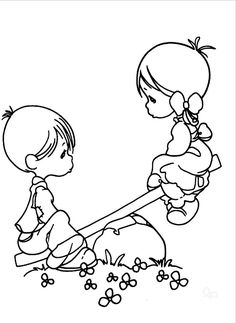 Boy And Girl Coloring Pages - AZ Coloring Pages