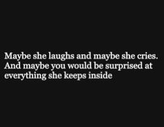 it hurts alot inside when someone is probably disappointed you