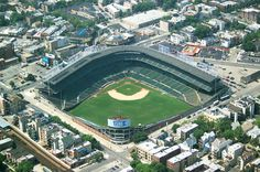 On my list of places to visit: A Cards/Cubs game @ Chicago Cubs Baseball Stadium