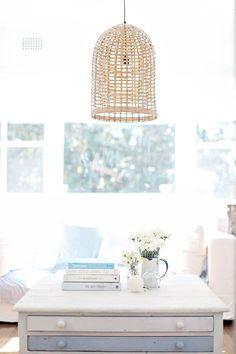 rattan lights