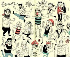 Sketchbook ~ Douwe Dijkstra
