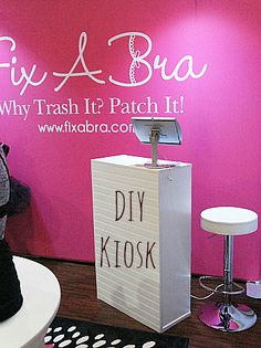 learn how to build a diy trade show kiosk