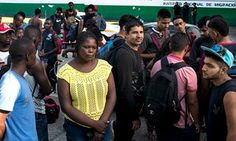 "{    PASSAGE THROUGH MEXICO: THE GLOBAL MIGRATION TO THE US    }   #TheGuardian .... ""While waiting for travel documents in Tapachula, African and Asian migrants recount the treacherous journeys they took to get one step closer to a new home."".....  https://www.theguardian.com/global-development/2016/sep/06/mexico-african-asian-migration-us-exit-permit?page=with:img-6"