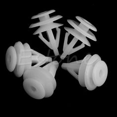 20 Pcs 11mm White Hole Car Door Panel Plastic Rivets Bumper Retainer Clip for Honda CIVIC Accord FIT free shipping #Affiliate