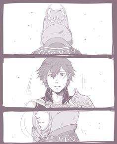 Fire Emblem Awakening, Chrom and Emmeryn ;(