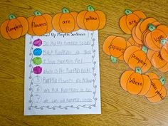 Fun With Firsties: Halloween is Coming!
