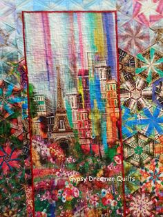 Gypsy Dreamer Quilts: Wanderlust: Experiment with a One Block Wonder layout