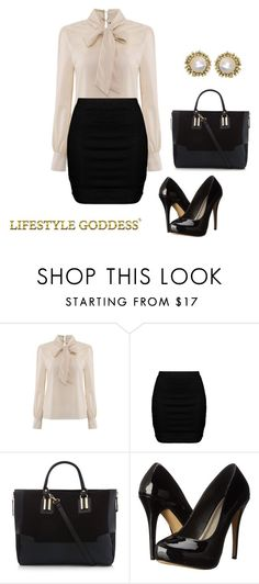 """Untitled #29"" by reetta-v on Polyvore featuring Zizzi, Michael Antonio and Kendra Scott"