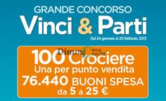 Concorso a premi Alì Supermercati – Vinci & Party