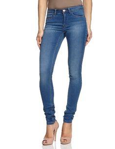 ONLY Damen Jeans Normaler Bund 15077789/SKINNY REG. SOFT ULTIMATE PIM203 NOOS, Gr. 38/30 (M), Blau (Medium Blue Denim)