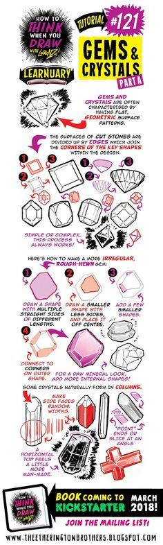 #121 Gems & Crystals A