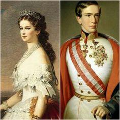 Emperor Frank Jozef and Empress Elisabeth of Austria!!