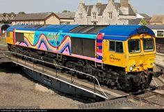 RailPictures.Net Photo: 66720 GBRailfreight EMD Class 66 at Wansford, United Kingdom by Richard Gennis